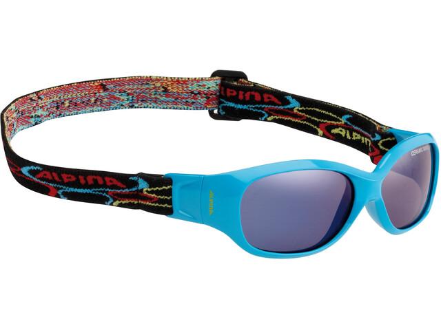 Alpina Sports Flexxy Kids Glasses cyan
